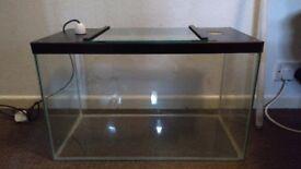 Two 2ft glass vivariums