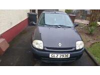 2000 Renault clio 1.2 petrol.