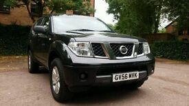 NISSAN PATHFINDER 2.5 DCI 4X4 DIESEL MANUAL BLACK