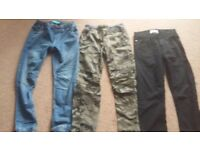 Trousers for boys 9-10