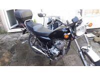 LEXMOTO 125CC Vixen Black Cruiser Motorbike