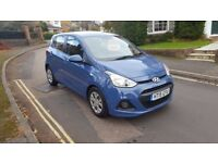 2015 HYUNDAI I10 SE 1.0 PETROL 5 DOOR HATCHBACK BLUE 27,000 MILES 12 MONTH MOT 2 KEY