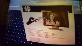 Brand New. HP Monitor. Collect today cheap