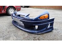 3000gt mitsubishi gto front and rear aftermarket bumpers and skirts