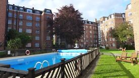 Excellent 2 Bedroom Flat In Chiswick with Swimming Pool - Private Let