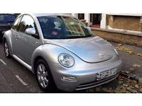 VW Beetle 2002 Silver North London