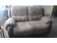 2 seater recliner and armchair recliner
