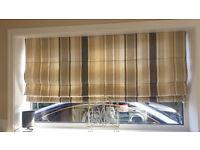 Laura Ashley Awning Stripe Fabric blind