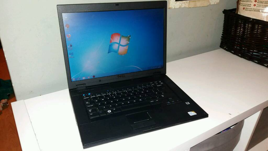 Dell Latitude Dual Core Windows 7 Laptop