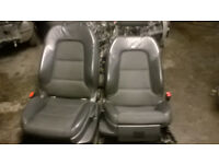 AUDI A3 S LINE LEATHERS SEATS COMPLETE WITH DOOR CARDS