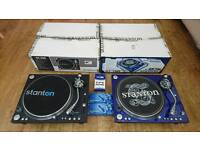 Pair Stanton ST 150 plus sure cartridge