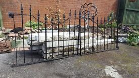 8ft x 3ft double gates including fixings.