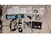 Fuji X-M1 + 2 lenses + large selection of extras