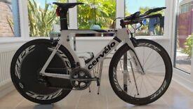 Cervélo P3 TT Time Trial Bike with Zipp Carbon Wheels and Dura-ace Carbon Cervelo