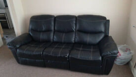 3 seatter sofa with sliding seats