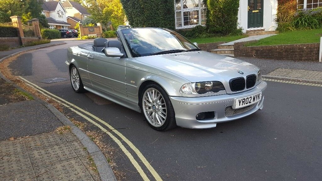 2002 bmw 330 ci convertible m sport automatic silver grey. Black Bedroom Furniture Sets. Home Design Ideas