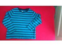 Lupilu striped shirt 2-4 years