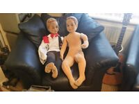 Pair of Children / Child Mannequins, Twins, Available Individually or Together