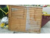 5x6 fence panels