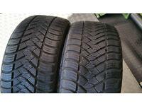 225 40 18 2 x tyres Maxxis UY72 M+S