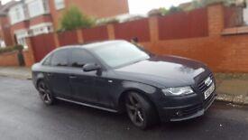 Audi a4 2011 black edition cat d