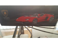 DX Red Lamborghini Aventador J Radio Control Car Model