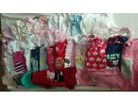 Bag full of baby clothes