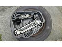 Spare wheel kit 5x100