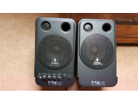 Behringer MS16 Speakers