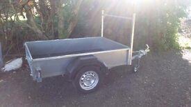 6x 4 new Galvanised trailer