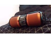 SHARP Boombox CD/USB/AUX/GuitarInput/Microphone/Radio