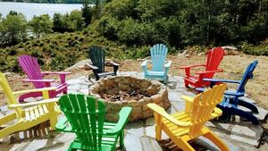 Adirondack Lawn Chairs (PER CHAIR $125.00)