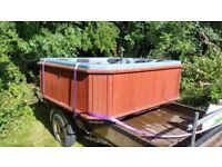 Large hot tub - not working but ideal for a hillbilly hot tub