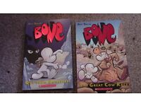 BONE - First two volumes in FULL COLOUR and almost PERFECT CONDITION - £20 value for only £5!!!