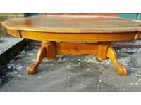 Wooden Polished coffee table £20
