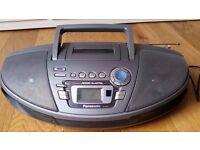 Panasonic RX-ES27 Power Blaster Portable Stereo (CD/Tape/Radio).