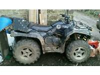 CCM 4 x 4 quad bike