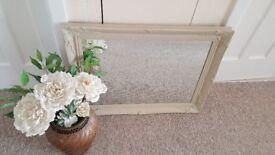 Ornate bevelled mirror 60 x 80 cm