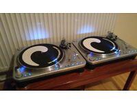 2 x Citronic PD-45 Ultima DJ Decks Turntables