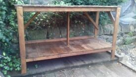 Large sturdy workbench