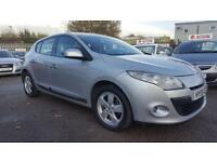 RENAULT MEGANE 1.5 DCI DYNAMIQUE 6 SPEED 5 DOOR 2010 / £30 TAX / 12 MONTHS MOT / HPI CLEAR / 2 KEYS
