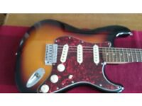 **Reduced** Fender Squier Stratocaster inc CNB Padded Case