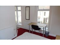 1 large double bedroom to rent immediately in student house, St Helens Ave, Swansea. 2017-18