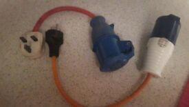 Caravan electric mains adapter /hook up