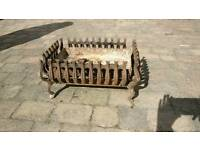 Wrought iron fire grate