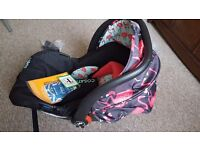 NEW Cosatto Giggle 2 Flamingo Car Seat 0+