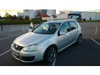 VOLKSWAGEN GOLF GT TDI 2.0L DIESEL SILVER 5DR 2006/2007 ONLY 47K MILES! GREAT CONDITION! ONLY £4300!
