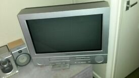 28 inch Bush stereo tv wiith built in video recrder and dvd