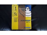 MICHELIN 17 INCH MOTORCYCLE INNER TUBE.
