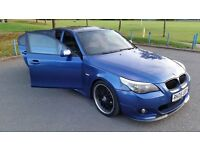 BMW 525D MSPORT AUTO 2005 - ONE OFF BLUE TONE. FULL MSPORT KIT & MORE!! #REALHEADTURNER
